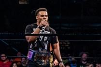 First Wrestling Wrestlepalooza Ariya Daivari talks to Darius Martin 01432