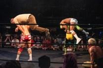 First Wrestling Wrestlepalooza Iron Rebel Renny D vs Brandon Gore vs Scott Story vs Rylie Jackson vs Deputy Rob Justice vs Atomic Super Thunderfrog 01212