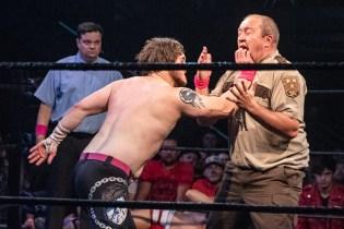 First Wrestling Wrestlepalooza Iron Rebel Renny D vs Brandon Gore vs Scott Story vs Rylie Jackson vs Deputy Rob Justice vs Atomic Super Thunderfrog 01234