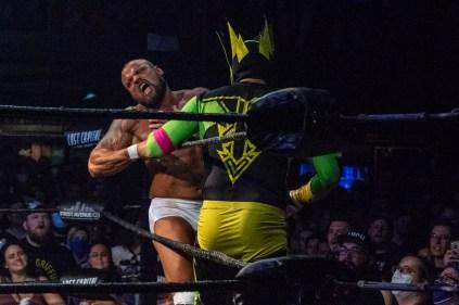 First Wrestling Wrestlepalooza Iron Rebel Renny D vs Brandon Gore vs Scott Story vs Rylie Jackson vs Deputy Rob Justice vs Atomic Super Thunderfrog 01253