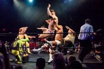 First Wrestling Wrestlepalooza Iron Rebel Renny D vs Brandon Gore vs Scott Story vs Rylie Jackson vs Deputy Rob Justice vs Atomic Super Thunderfrog 01282