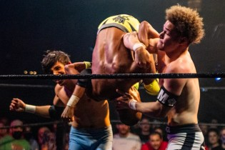 First Wrestling Wrestlepalooza Starboy Charlie vs Devon Monroe vs Dante Martin 00787