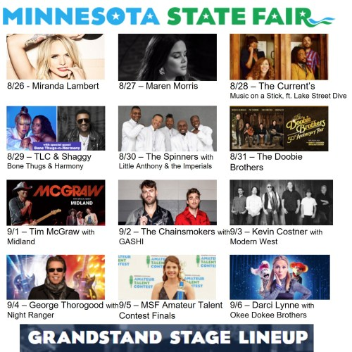 State Fair Grandstand Preview