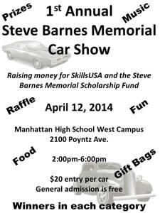 Steve Barnes Memorial Car and Truck Show  @ Manhattan High School West  | Manhattan | Kansas | United States