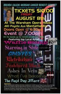 The Brenda Allen Morgan Cancer Benefit Concert @ The Wareham    Manhattan   Kansas   United States