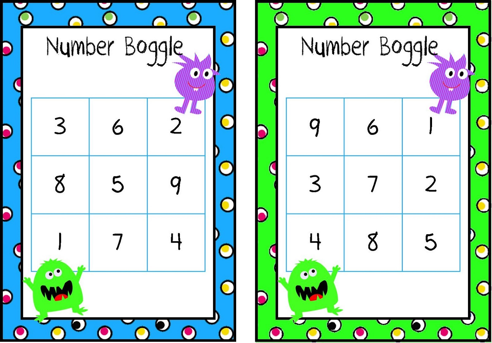 Game Boggle For Kids