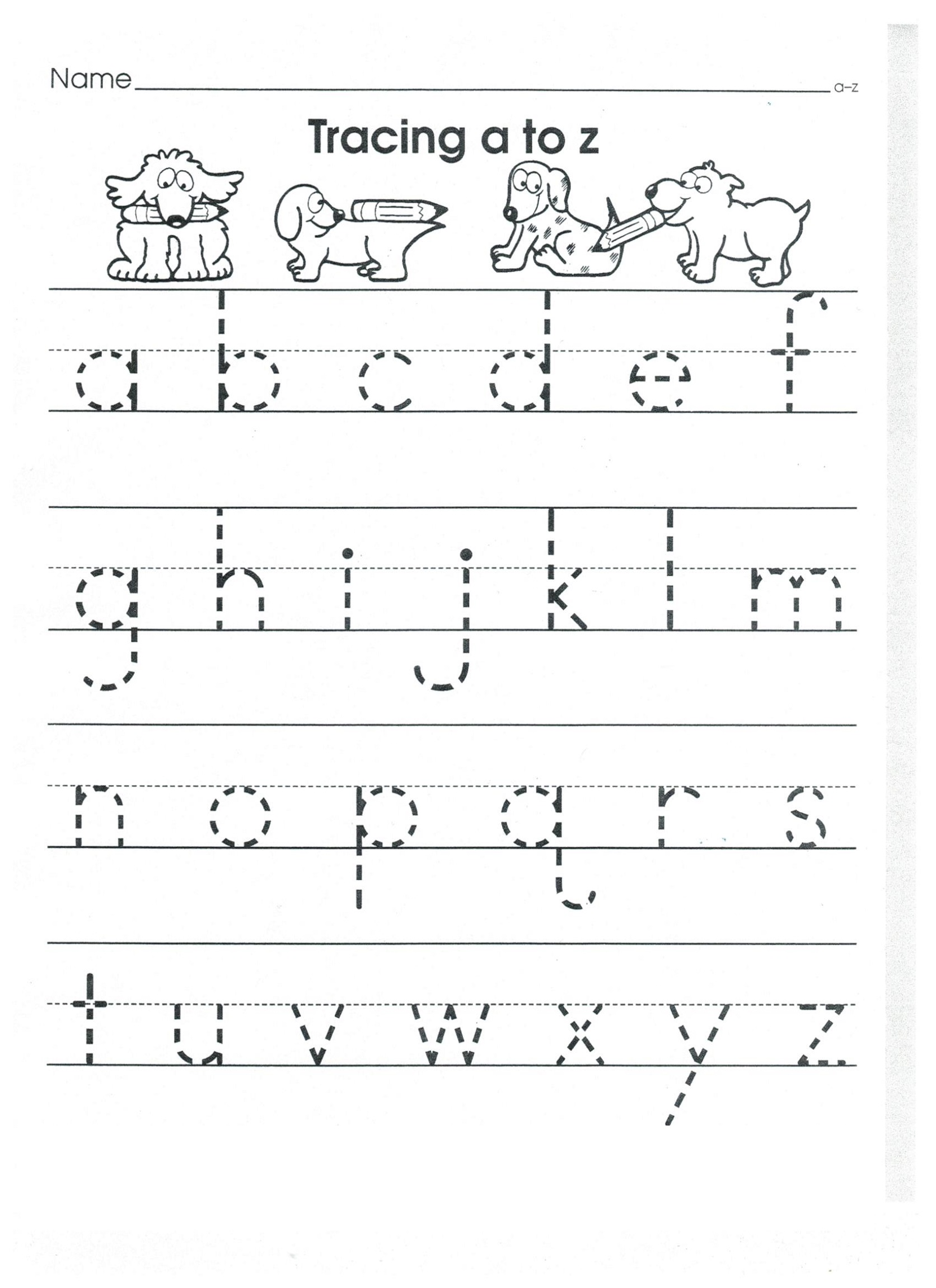 Practice Writing Lowercase Letter Worksheets