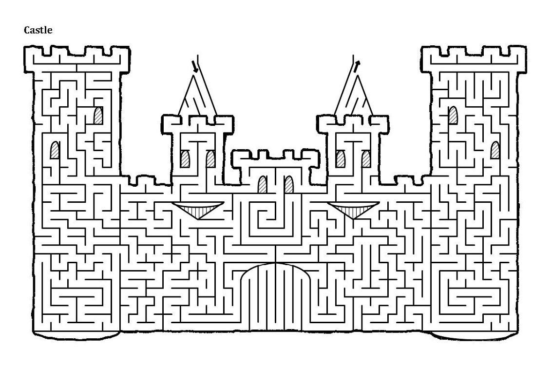 Free Printable Mazes For Adults