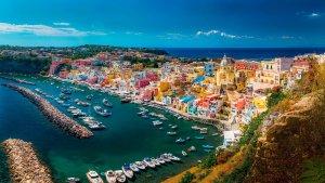 Procida Adası Napoli, İtalya