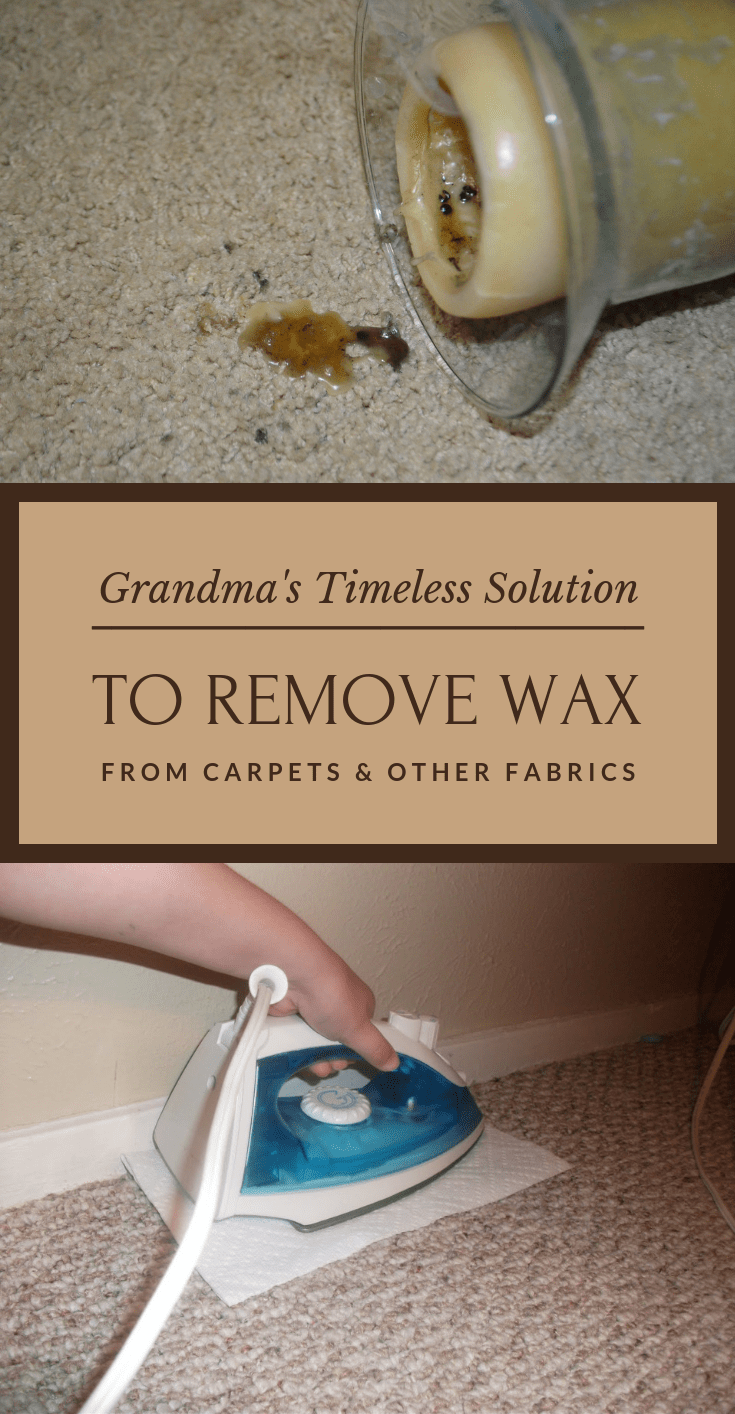 Grandma S Timeless Solution To Remove Wax From Carpets And Other Fabrics 101cleaningsolutions Com