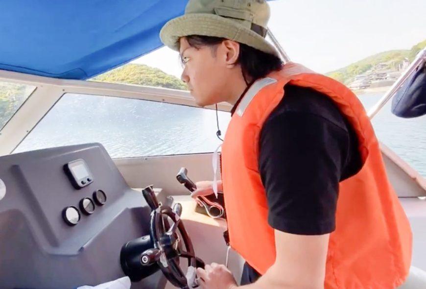 小型船の操縦