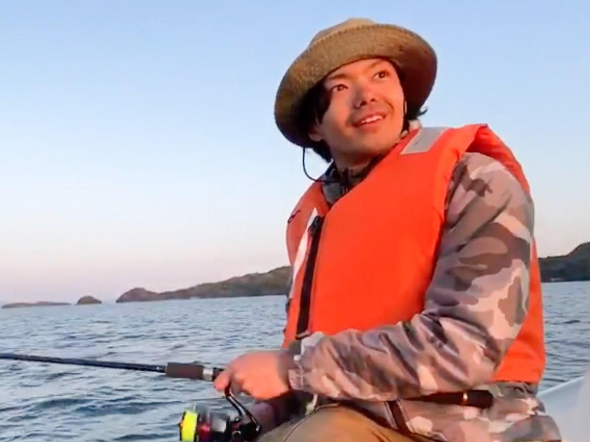 加藤くん船釣り
