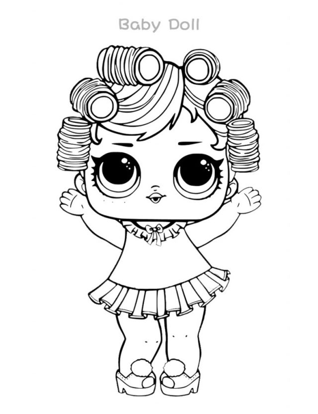 LOL Coloring Pages Baby Doll  28 Coloring