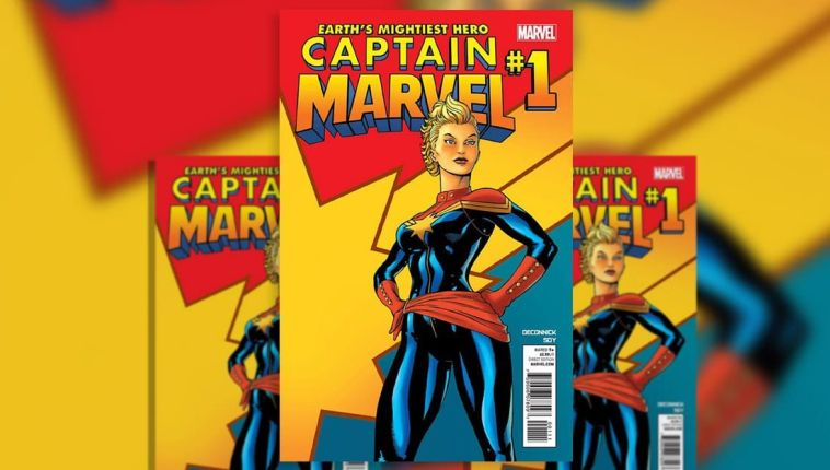 Captain Marvel #1 2012