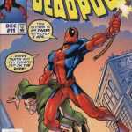 deadpool spiderman cover