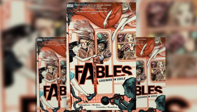 Fables #1 Legends in Exile