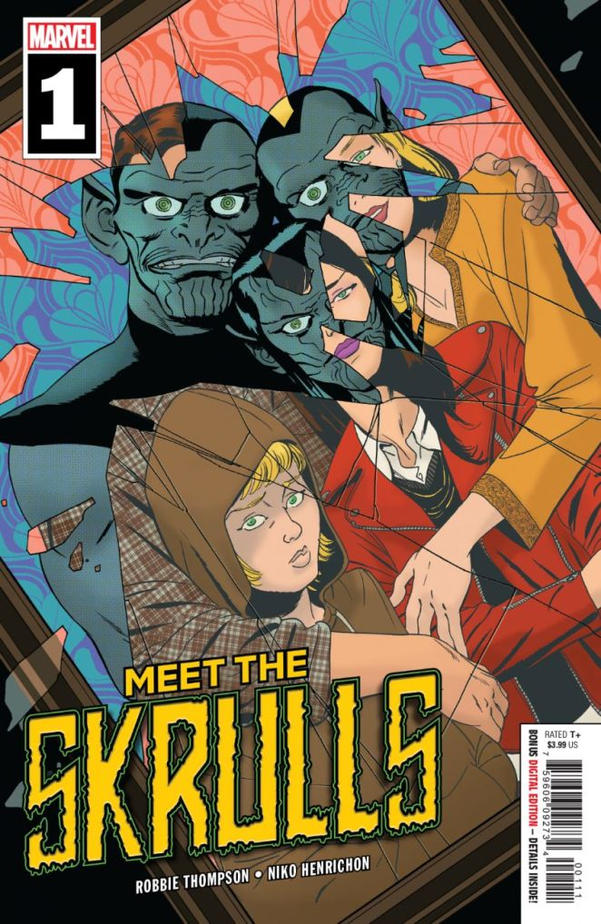 Meet The Skrulls Cover