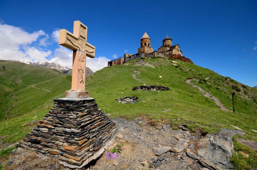 Kościół Gergeti, Gruzja