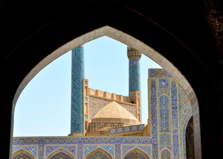 Meczet Shah w Isfahanie, Iran