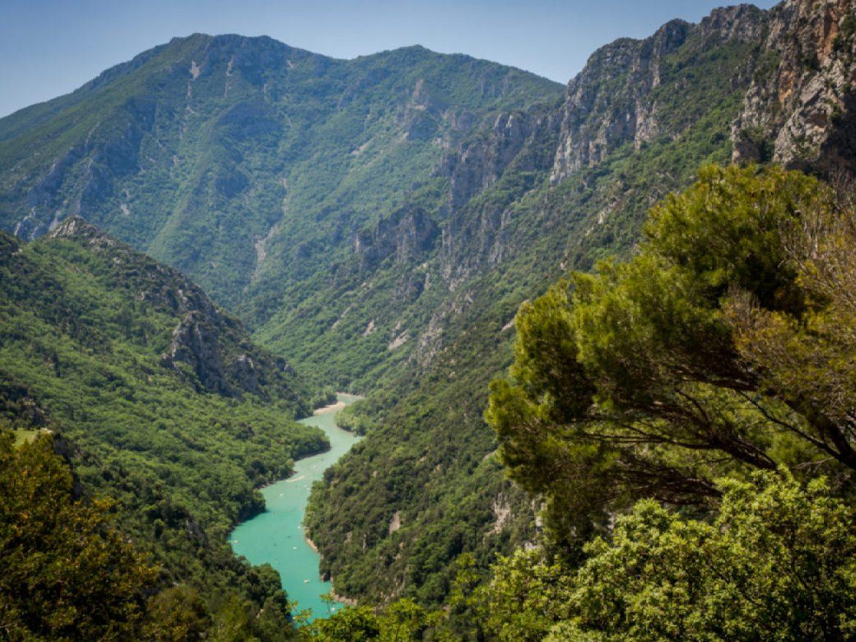 Kanion Verdon, najpiękniejszy kanion w Europie