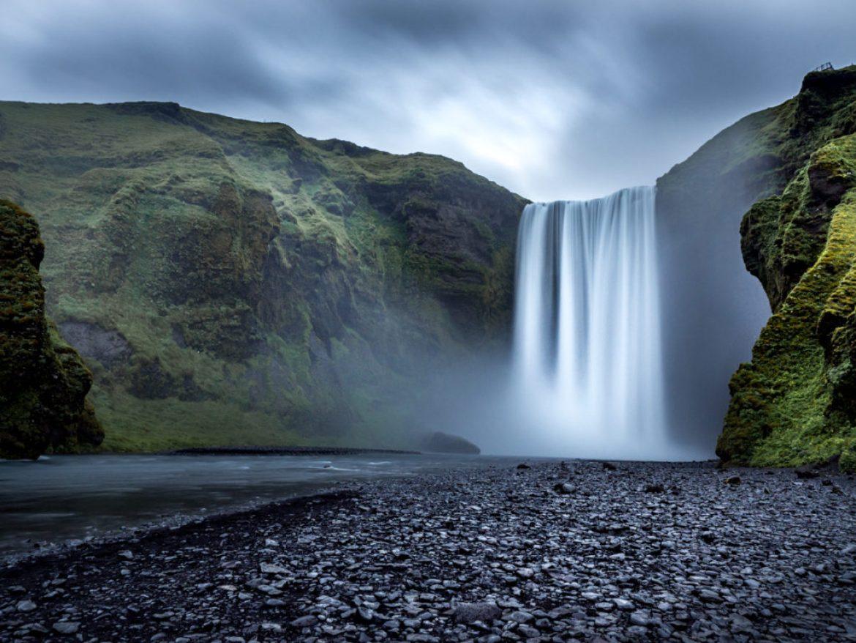 Islandia Skogafoss