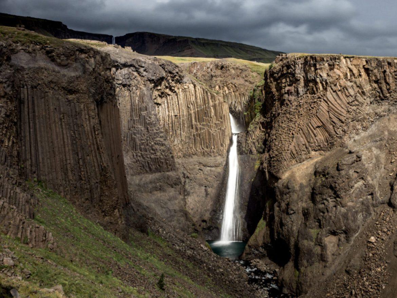 Islandia Litlanesfoss