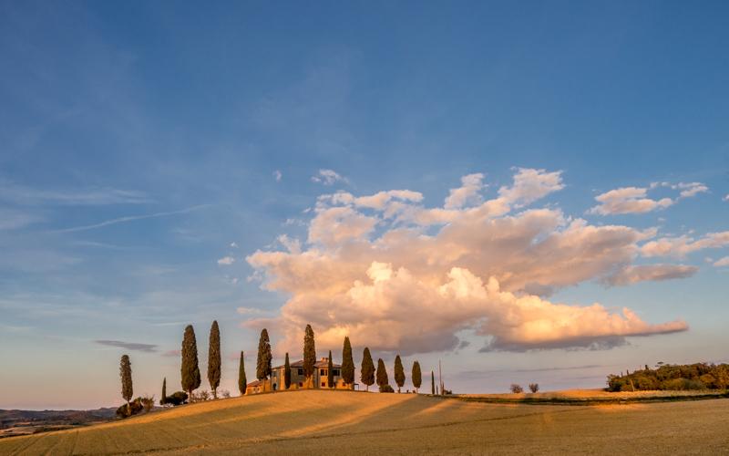 punkty widokowe Toskanii