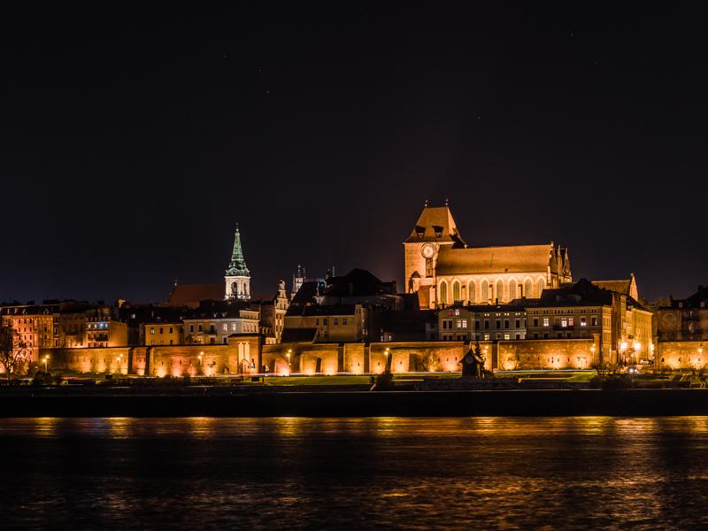 Punkty widokowe Toruń