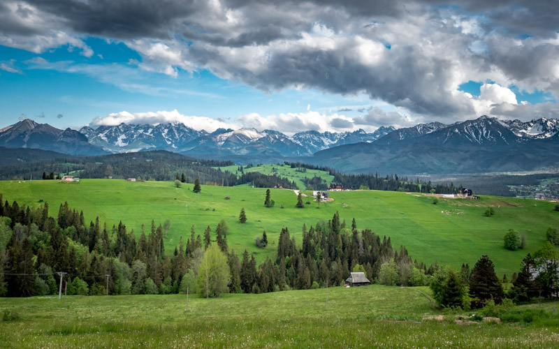 Punkty widokowe na Tatry