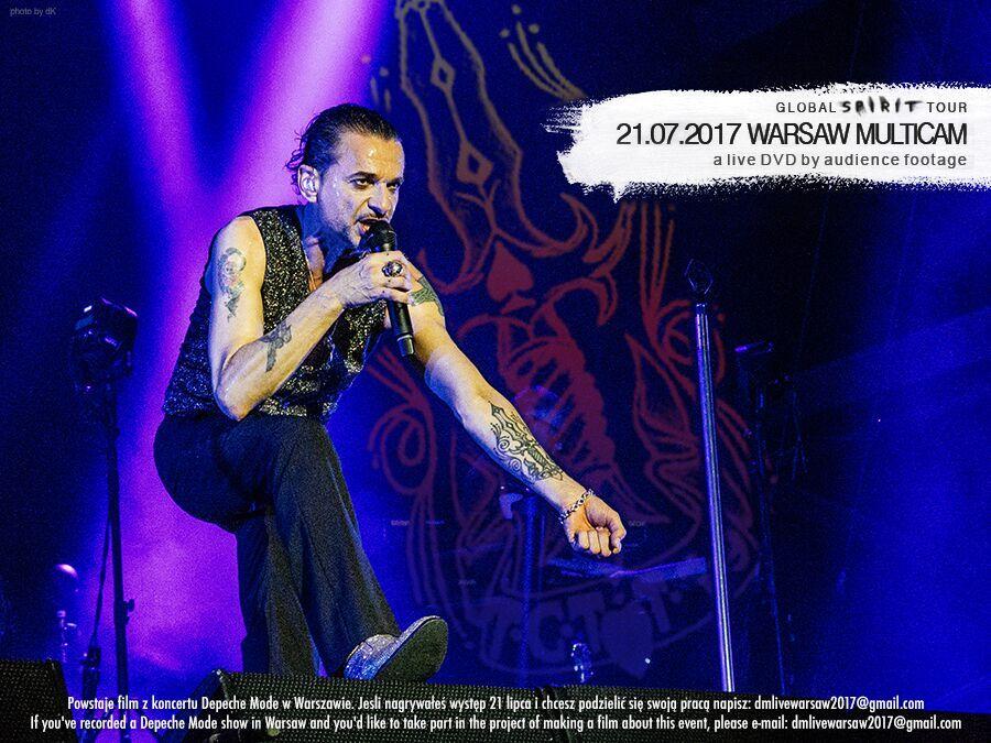 Zaprojektuj okładkę do koncertu w Warszawy