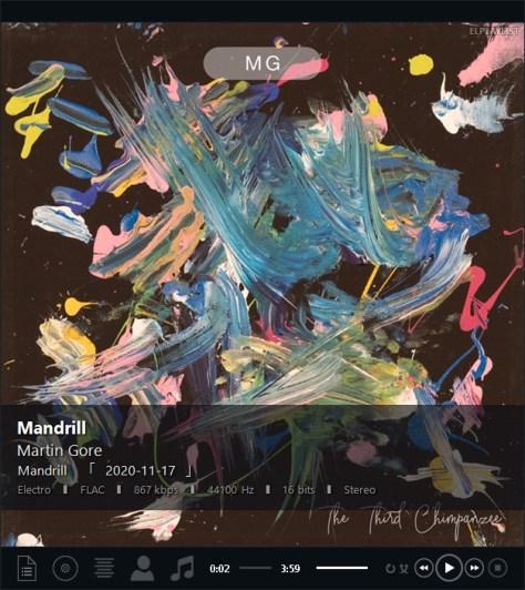MG okładka Mandrill