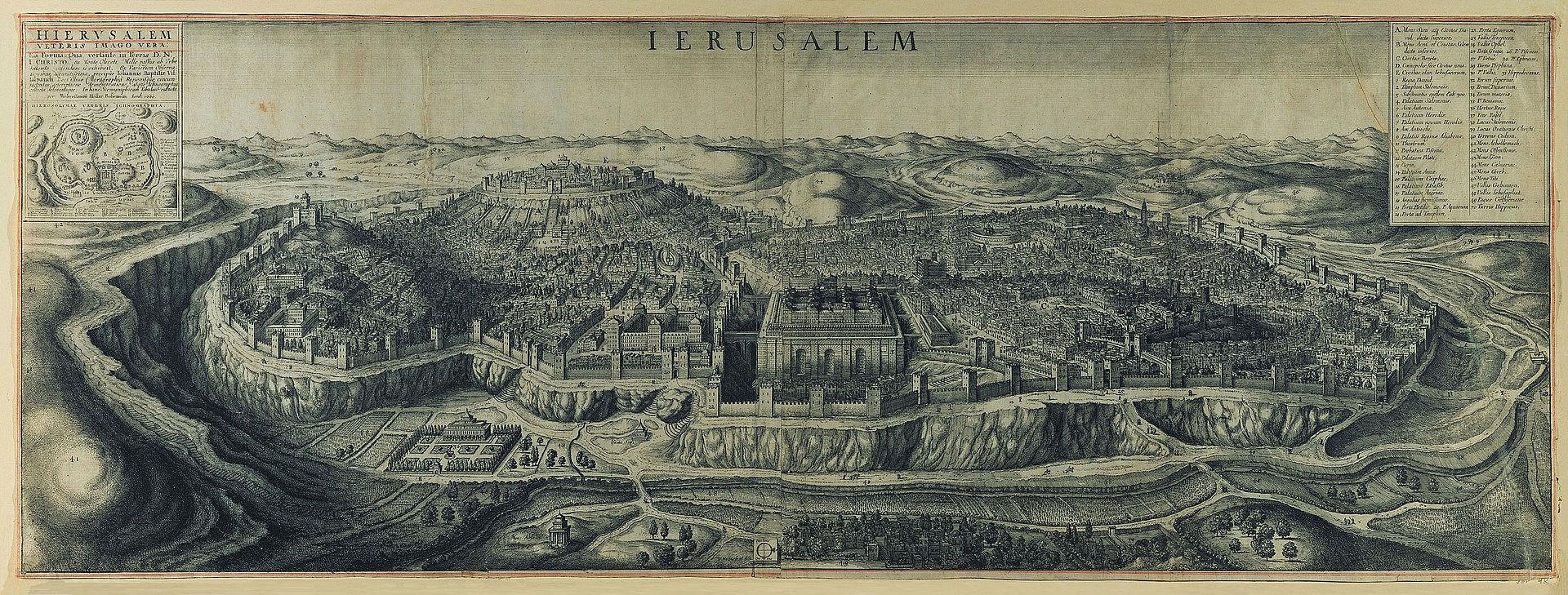 Jerusalem_-_Ex_variorum_Observationibus_accuratissima_-_precipue_Iohannis_Baptiste_Villalpandi…In_hanc_scenographicam_tabulam_redacta_per_Wenceslaum_Hollar_Bohemium1660