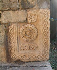 Tiberias-Fort Gate Roman Stone