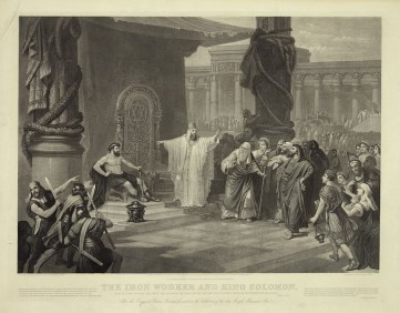 'The_Iron_Worker_and_King_Solomon',_1889_engraving_by_John_Sartain