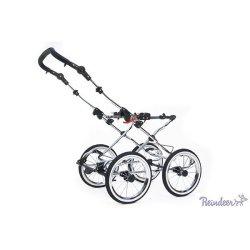 Детская коляска Reindeer Retro 2 в 1 (кремовый)