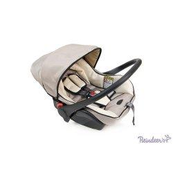 Детская коляска Reindeer Prestige Wiklina Eco-line 3 в 1 (белый)