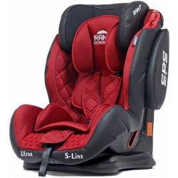 Детское автокресло Rant S-Line Ultra SPS (Красный/черный)