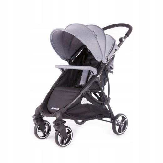 Детская коляска Baby Monsters Compact (серый)