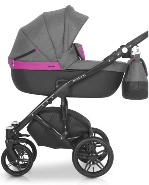 Детская коляска Expander Enduro 3в1 (серо-розовый)