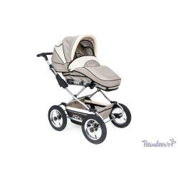 Детская коляска Reindeer Style Len 2 в 1 (серый/белый)