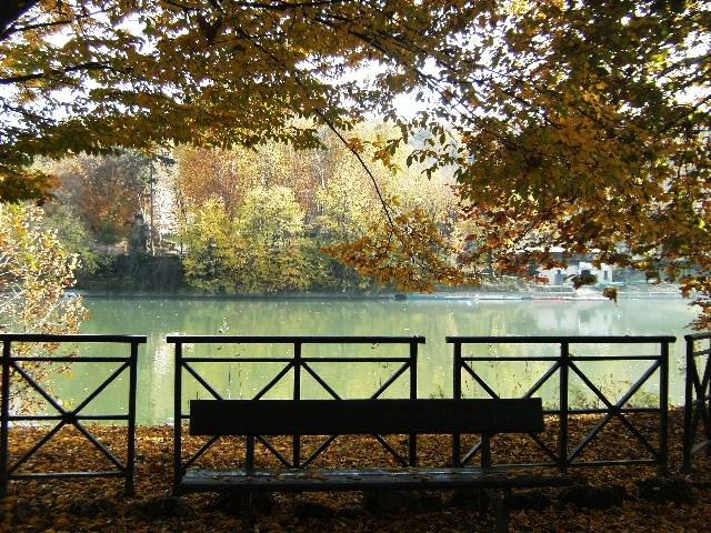 parco del valentino rio po turin