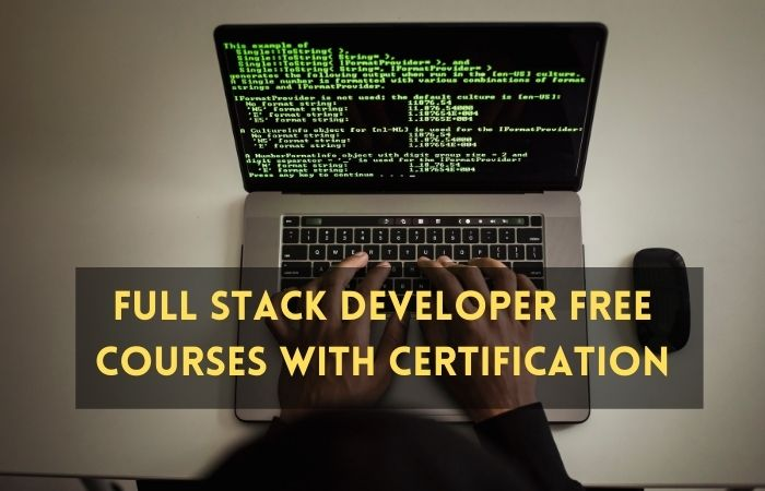 Full Stack Developer Free Courses with Certification