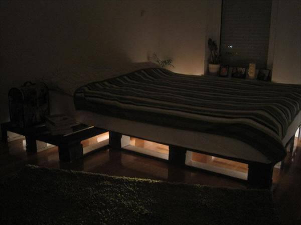 Wooden Pallet Bed Frame 101 Pallets