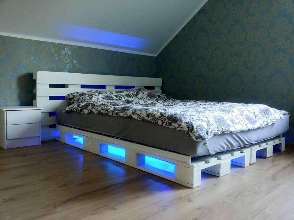 6 Effortless Pallet Bed Designs at no-cost | 101 Pallets on Bed Pallet Design  id=62135