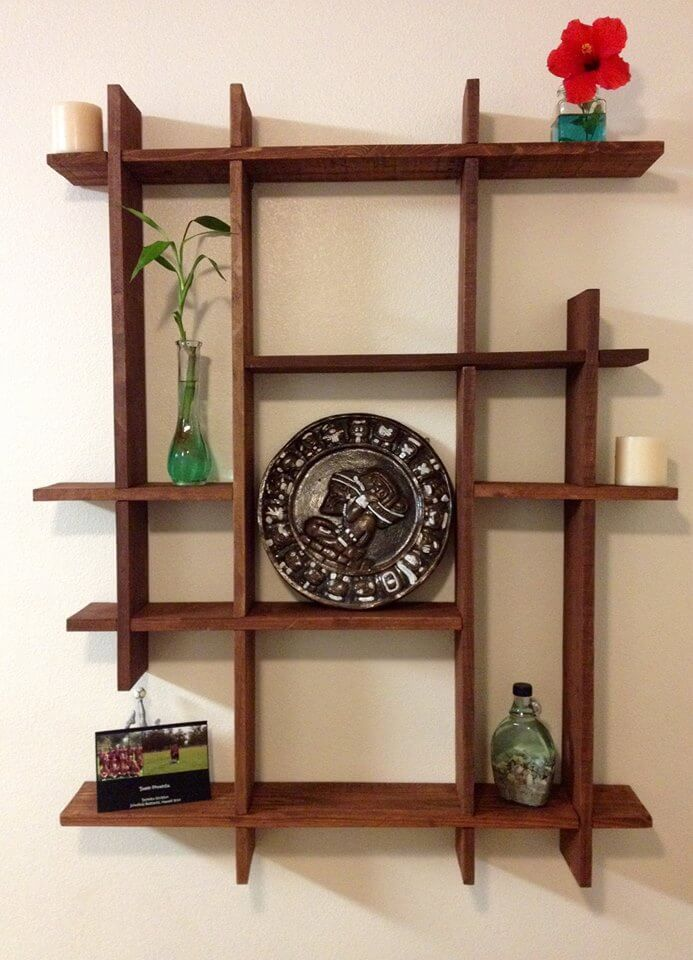 Pallets Wood Decorative Shelf Ideas | 101 Pallets on Pallets Design Ideas  id=66380