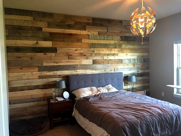 DIY 20 Upcycled Wood Pallet Ideas | 101 Pallets on Pallet Bedroom  id=91883