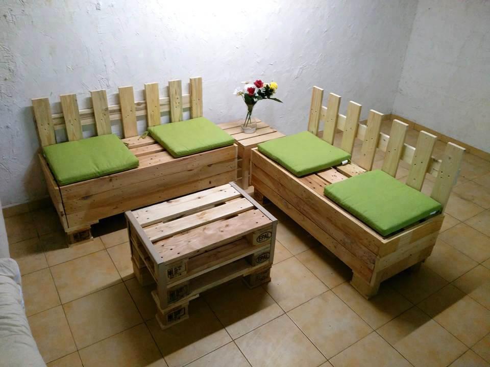 20+ Wonderful Pallet Ideas using Pallets Wood | 101 ... on Pallet Room  id=26601