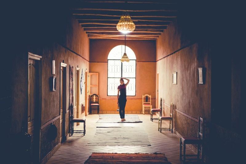 Хотела в долината Дадес, Мароко