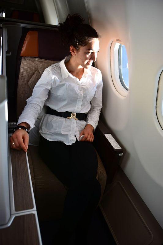Бизнес класата на Оман Еър