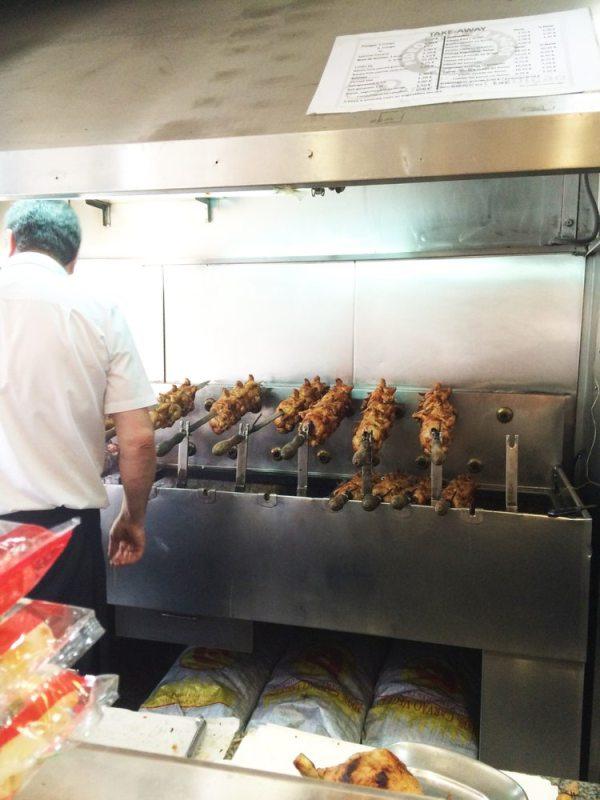Печени пилета в ресторант Pedro dos Frangos, Порто